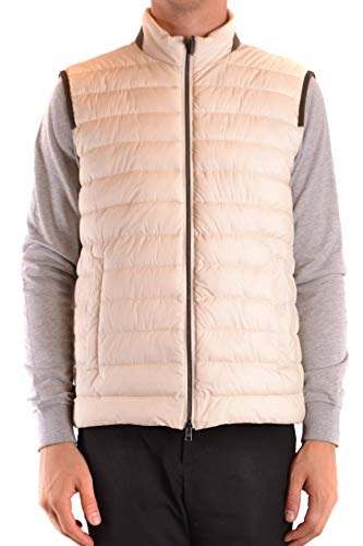 Luxury Fashion | Herno Heren MCBI38287 Wit Polyurethaan Gilets | Seizoen Outlet