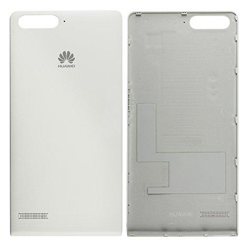 Original Huawei Akkudeckel white / weiß für Huawei Ascend P7 Mini (Akkufachdeckel, Batterieabdeckung, Rückseite, Back-Cover)