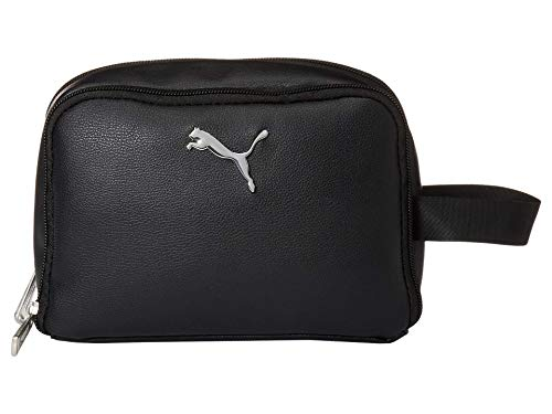 PUMA Uptrend Double Zip Cosmetic Bag Black One Size