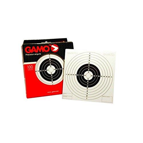 Caja de 100 Dianas 14 x 14 cm Gamo 6212106