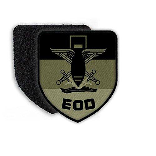 Copytec Patch BW EOD Tarn Bundeswehr Pinier Bund Kampfmittelbeseitigung Feuerwerk Einheit Wappen Logo Abzeichen Aufnäher Uniform ISAF #21644