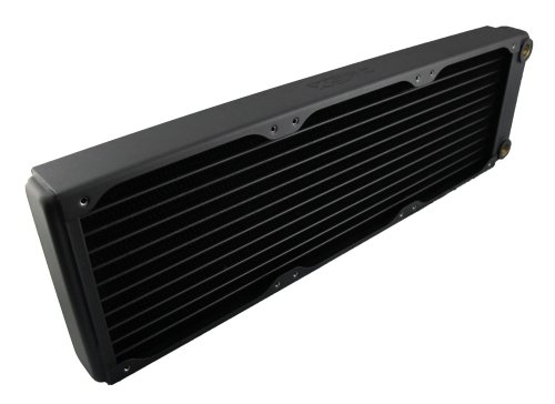 XSPC EX360 Radiator, 120mm x 3, Triple Fan, Black