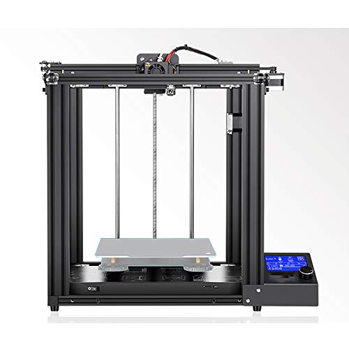 3D Printer Kit with LED Display, Commercial Metal Unibody Design Art Printing Equipment, Ender-5 DIY Assemble Machine for Creative Artist