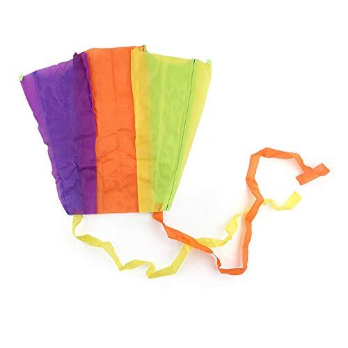 Cyhamse Cometa para niños plegable, se puede guardar cómodamente en la bolsa, listo para volar de inmediato, para niños a partir de 6 años