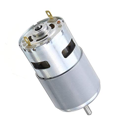 CROSYO 1pc 775/795/895 Gear Motor/Motorhalterung DC 12V-24V 3000-12000RPM Motor großes Drehmoment Getriebemotor (Farbe : 795 12V 11000rpm)