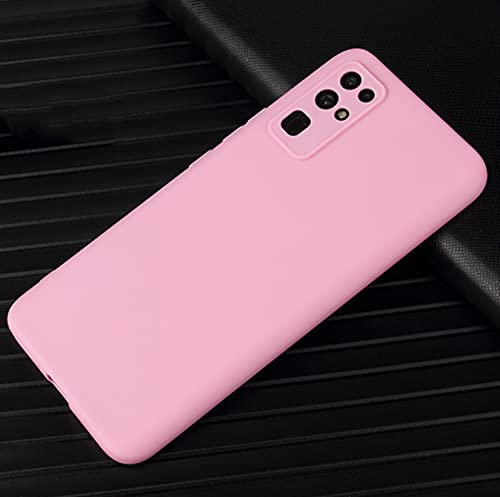 LONGSAND Compatible con Huawei P50 / P50 PTS Funda telefónica para Hombres Mujeres TPU Back Cover Modern Simple Protective Cover,Rosado,P50
