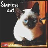 Siamese Cat 2021 Calendar: Official Siamese Cats Breed Calendar 2021, 18 Months