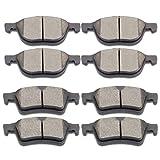SCITOO Ceramic Disc Brake Pads Set fit Ford Escape Focus C-Max Transit Connect,Mazda 3 5 3 Sport,Volvo C30 C70 S40 V50