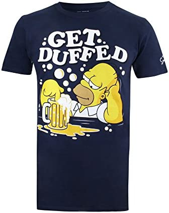 Simpsons Get Duffed Camiseta para Hombre
