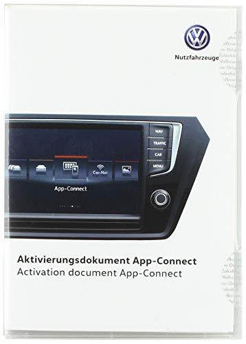 Volkswagen 7H0054830 Aktivierungsdokument für AppConnect