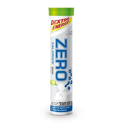 Dextro Energy Elektrolyt Tabletten | 12x20 Brausetabletten | Limetten Geschmack | Zero Calorie Drink | Mineralstoff Tabletten | Vegan & Zuckerfrei