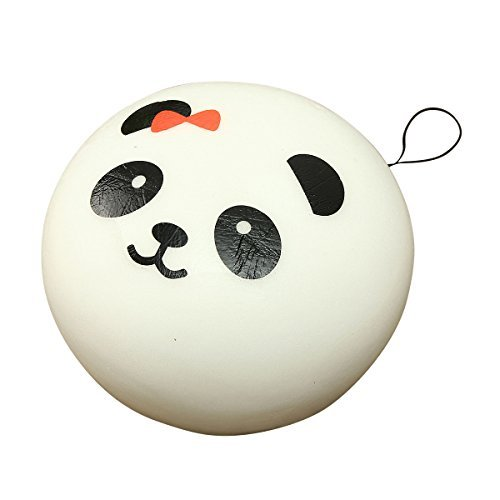 Cmoo6y Kawaii Jumbo Panda Squishy Buns Cell Phone Bag Strap Pendant