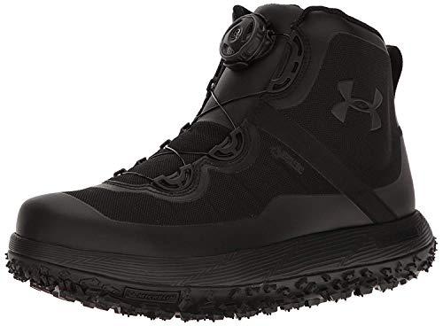 Under Armour Men's Fat Tire Gore-TEX Hiking Boot, Black (001)/Black, 9.5