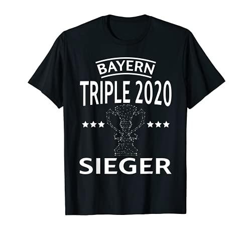 Bayern Triple 2020 Europa Sieger - Balón de fútbol Camiseta