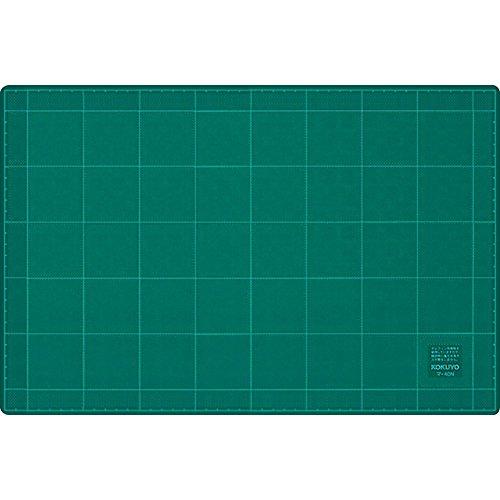 コクヨ カッターマット カッティングマット 両面仕様 方眼罫 300×450mm グリーン マ-42N