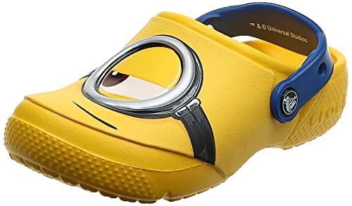 Crocs Fun Lab Minions Clog, Unisex - Kinder Clogs, Gelb (Yellow), 33/34 EU33/34 EU