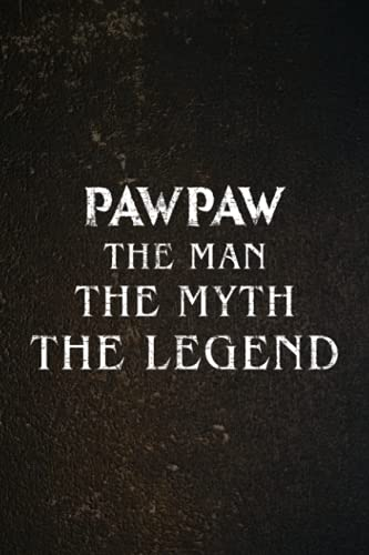Password book Pawpaw the Man the Myth the Legend Funny Gift for Grandpa Nice: Christmas Gifts,2022,Halloween,2021,Thanksgiving,Xmas,Cute password keeper,Login book