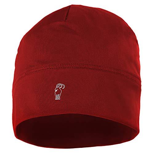 ALPIDEX Running Mütze Sportmütze Laufmütze Damen Herren Funktionsmütze One Size, Farbe:red