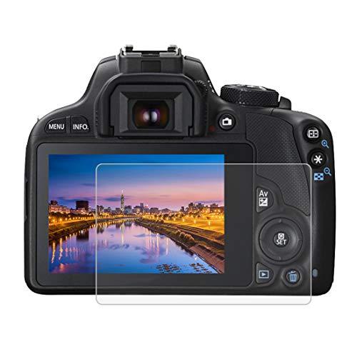 BYbrutek Pellicola Salvaschermo in Vetro Temperato per Canon 100D/M3, Durezza 9H, Antigraffio Pellicole Protettive per Display per Fotocamera Digitale(100D/M3)
