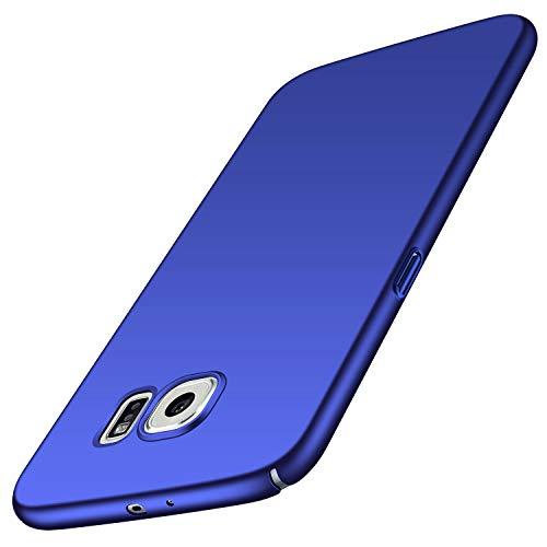 Avalri für Samsung Galaxy S6 Hülle, Ultradünne Handyhülle Hardcase aus PC Stoß- und Kratzfest Kompatibel mit Samsung Galaxy S6 (Glattes Blau)