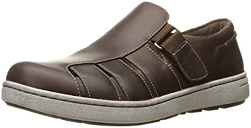 Dansko Men& 039;s Vince Flat, braun Oiled Pull Up, 47 EU 13.5-14 M US
