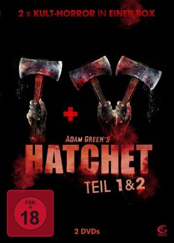 Adam Greens Hatchet 1 & 2 - 2x Kult-Horror in einer Box (2 DVDs)