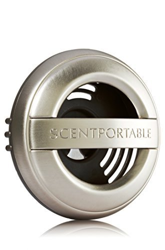 Bath & Body Works Scentportable Car Vent Clip Brushed Pewter