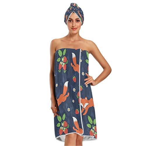 albornoz toalla mujer de la marca KEEPREAL