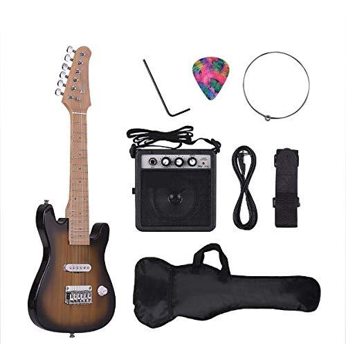 Juego De Guitarra, Guitarra ST Eléctrica Conjunto Mástil De Arce De Los...