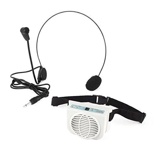 Pilas Cintura-Band w Amplificador Micrófono para Guía de Turismo