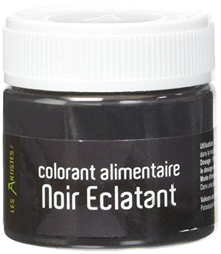 Les Artistes-Paris A-0410 Colorant Alimentaire Noir Éclatant