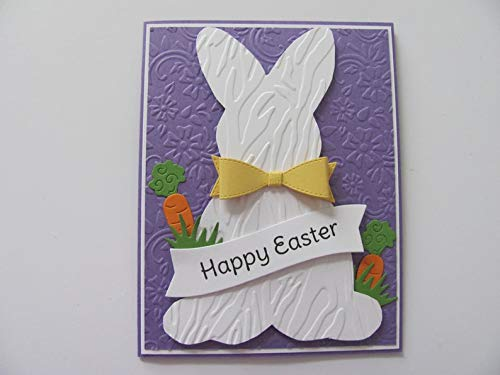 Find Cheap Handmade Easter Bunny Card, Happy Easter Bunny Card, Spring Cards, Bunny Cards, Happy Eas...