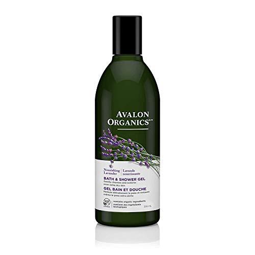 Avalon Organics Lavender Bath and Shower Gel, 355ml