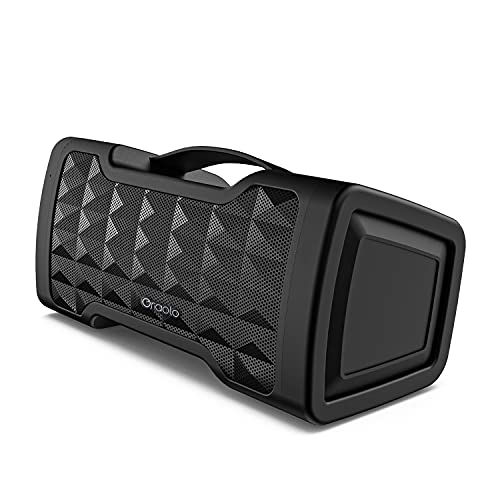 Oraolo M91 Bluetooth Speaker, Waterproof Wireless Speaker with Bluetooth, 24W Stereo Sound, Built-in Mic, 20 Hours Playtime Outdoor Speakers