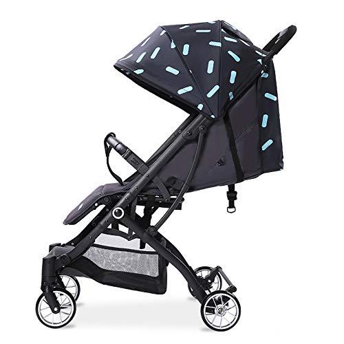 BOROAO Super lichtgewicht inklapbare baby kinderwagen auto kan zitten of liggen op het vliegtuig van kinderen Trolley