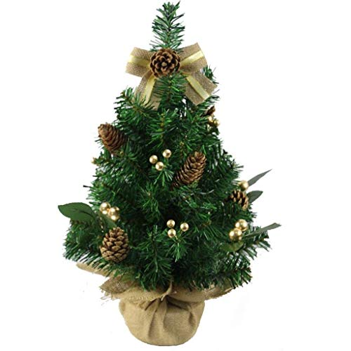 BALLYE Christmas Trees Artificial Christmas Trees Christmas Tree 30/50cm New Year Table Decoration Ornaments Merry Christmas Decorations for Home Xmas Trees Mini Small Pine Artificial Christmas Tre