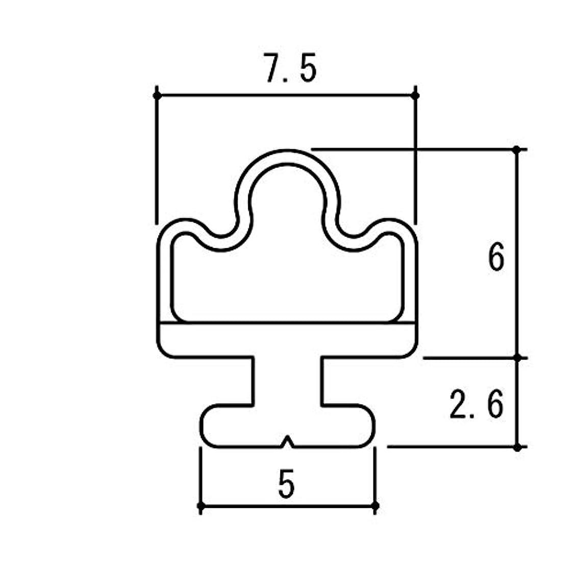 理解する幹聴衆三協アルミ部品 浴室 気密材:気密材(上下たて枠)10m[PH2549] [WH]ホワイト