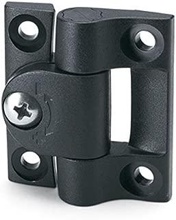 4.61 Center to Center Elesa 1.02 Wide Handle Black Matte Finish Plastic Pull Handle 3 Pack