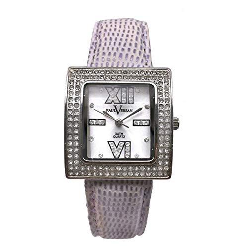 Paul Versan Reloj Analog-Digital para Womens de Automatic con Correa en Cloth S0317248