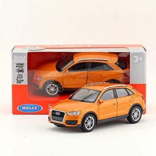 Greensun DieCast Metal Model/1:36 Scale/Audi Q3 SUV Toy Car/Pull Back Educational Collection/for Children's Gift or for Collection