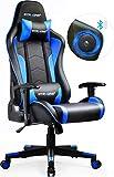 GTPLAYER Gaming Stuhl mit Lautsprecher Bürostuhl Schreibtischstuhl Musik Audio Gamer Stuhl...