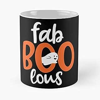 Boo Fab Lous Fabulous Cartoon Ghost Great Gift 11 oz Mug For Everyone