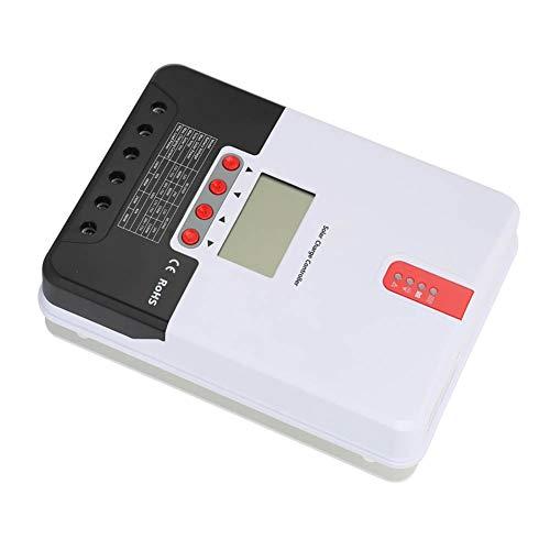 Weikeya Controlador de Carga Solar, batería de Litio de batería de Panel Solar limitante de Corriente Hecha de componentes electrónicos y Voltaje de batería de Metal y plástico