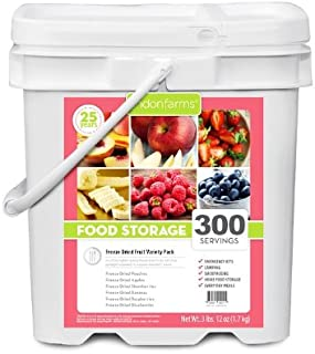Lindon Farms Mixed Freeze Dried Fruits (300 Servings)