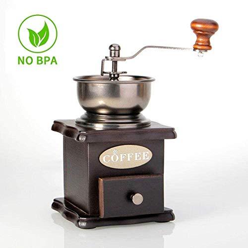 Koffie Machine en Grinder,Koffiemachine Bonen om Cup Automatische, Koffie Hand Grinder, Huishoudelijke Grinder, Koffiebonen Grinder, Hoge Hardheid Keramische Grinding Core, Even en Snel