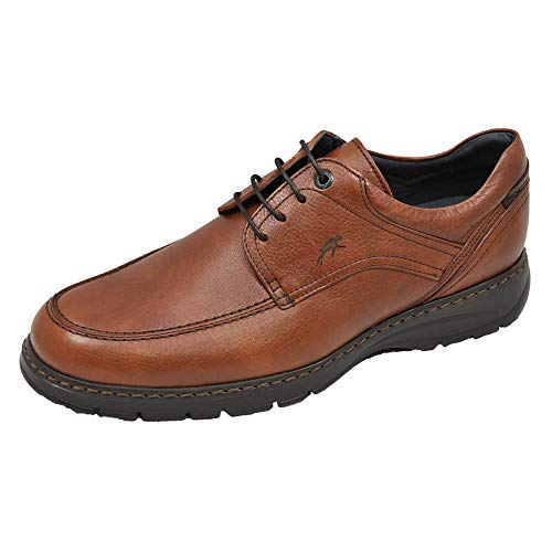 Fluchos   Zapato de Hombre   CRONO 9142 Salvate Libano Zapato Confort   Zapato de Piel   Cierre con Cordones   Piso Personalizado Fluchos Light