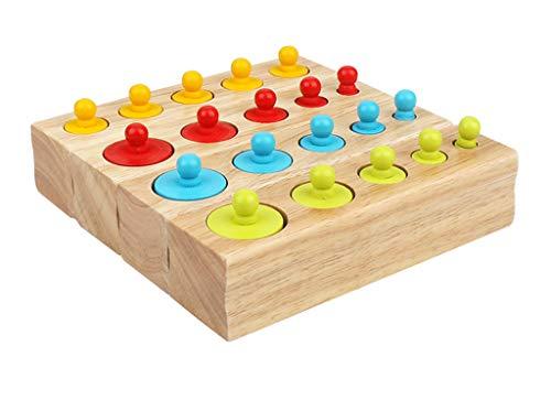 SY-Home Puzzle Jouet en Bois, Couleurs très Reconnue pour Garçons Filles Enfants Tout-Petit Apprentissage Cadeau éducatif pour Enfants