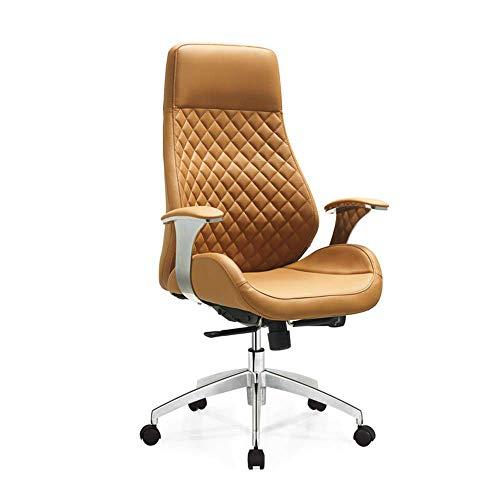 WEI-LUONG PU De gama alta silla de respaldo reclinable ordenador de la oficina de diseño creativo silla giratoria ergonómica silla de oficina con respaldo alto regulable silla giratoria de ejecutivo d