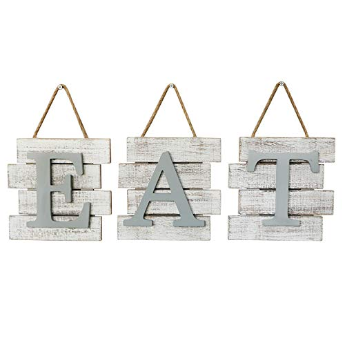 Barnyard Designs Eat Sign Wall Decor, Rustic Farmhouse...