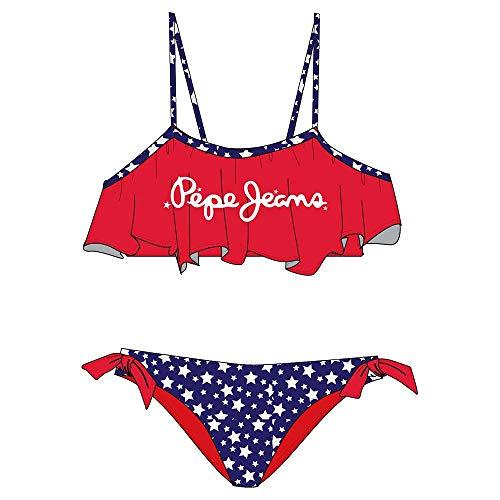 Pepe Jeans Renne Bikini, 255red, 16 para Niñas